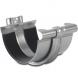 Steel Gutter Union With Bracket - 150mm Galvanised