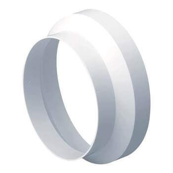 Easipipe Round Ventilation Duct Reducer - 125mm x 100mm