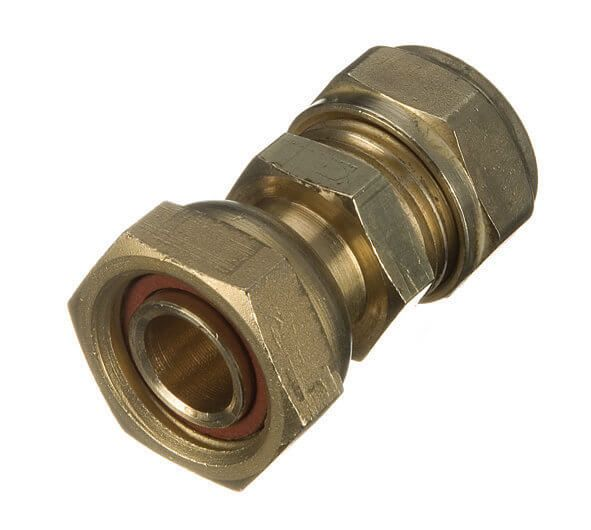 Compression Tap Connector Straight - 15mm x 1/2