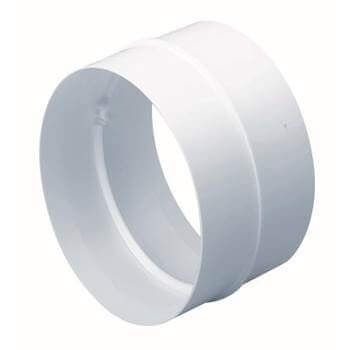 Easipipe Round Ventilation Duct Straight Connector - 100mm