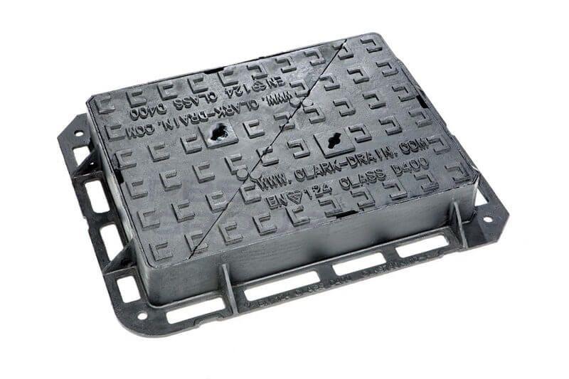 Ductile Iron Manhole Cover - 40 Tonne x 600mm x 450mm