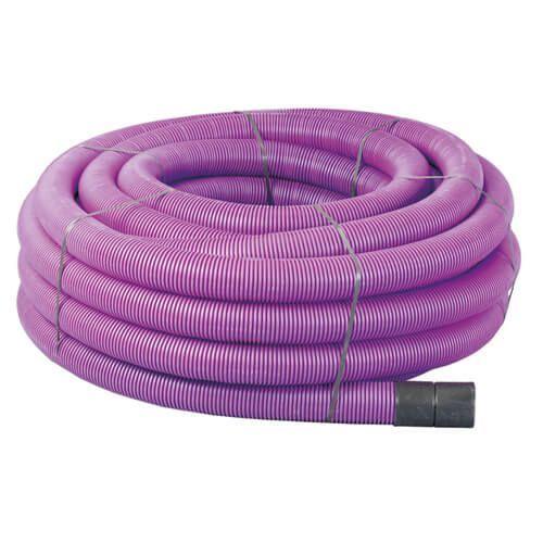 Flexi Duct - 63mm (O.D.) x 50mtr Purple Coil
