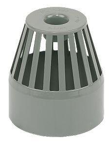 Ring Seal Soil Vent Terminal - 110mm Grey