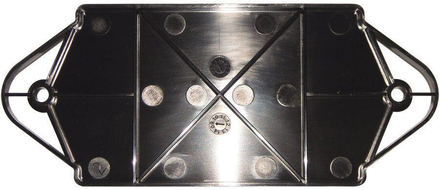 Ring Seal Soil Pipe Spacer - 110mm Black Gloss Effect