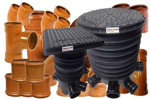 Site Starter Pack Including Inspection Chambers - 110mm