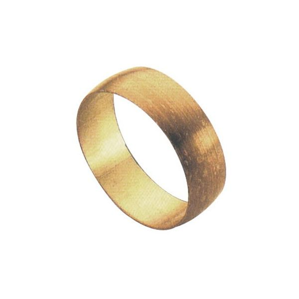 Brass Olive - 15mm - Pack of 10