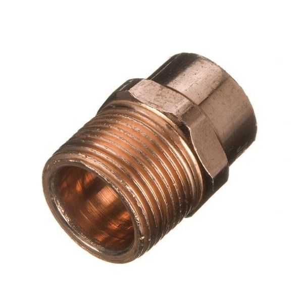 Solder Ring Male Iron Adaptor - 15mm x 1/2