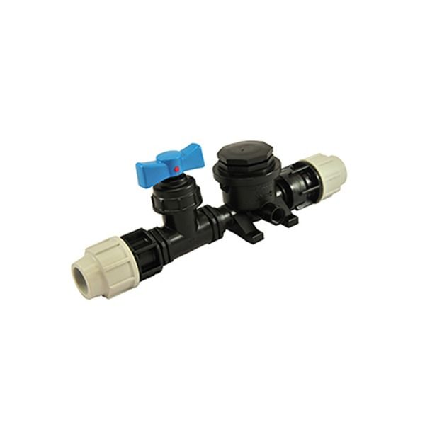 Water Meter Manifold - for 25mm MDPE Connections