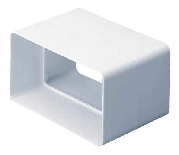 Supertube Rectangular Ventilation Duct Straight Connector - 204mm x 60mm