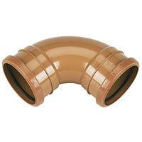 Drainage Bend Double Socket - 87.5 Degree x 160mm