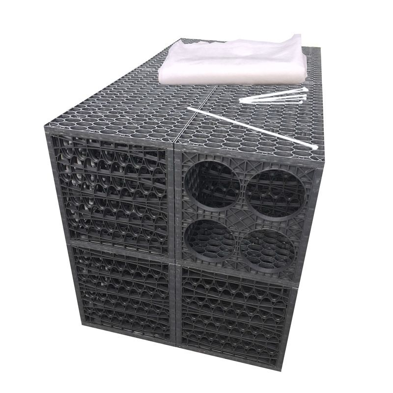 Rainsmart Ellipse Soakaway Set Assembled 1 Cubic Metre