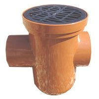 Drainage Bottle Gully Back Inlet Circular Grid - 110mm