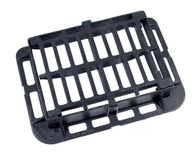 Ductile Iron Gully Grating Hinged - 40 Tonne x 510mm x 360mm