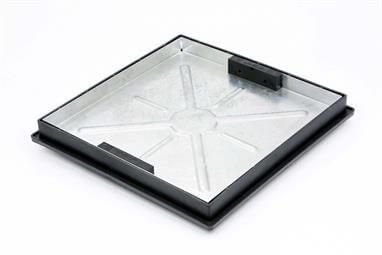 Manhole Cover Recessed - 5 Tonne x 450mm x 450mm x 46mm for 450mm Circular Chambers