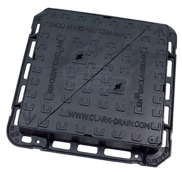 Ductile Iron Manhole Cover - 40 Tonne x 600mm x 600mm - OUT OF STOCK