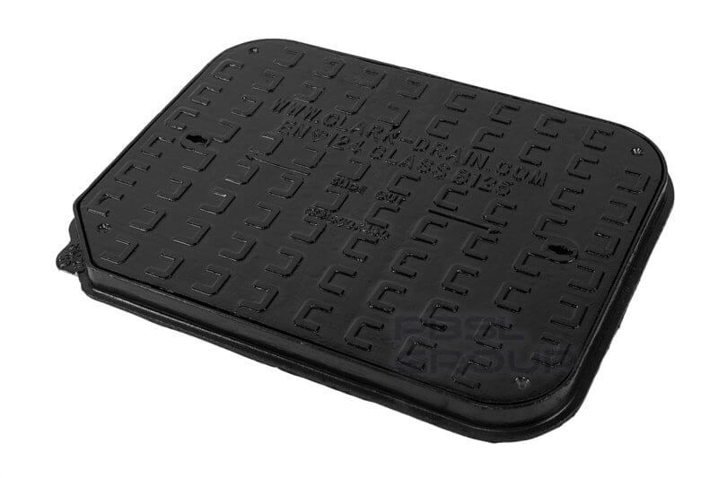 Ductile Iron Manhole Cover - 12.5 Tonne x 600mm x 450mm - OUT OF STOCK