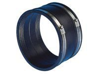 Drainage Flexible Coupling Straight - 100mm-115mm Both Ends - Pack of 10