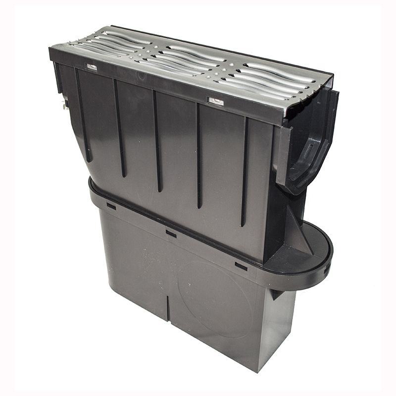 Sump Trap Unit and Basket Galvanised Steel Grating
