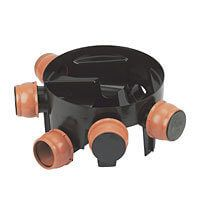 Inspection Chamber Base Adjustable Inlets - 450mm