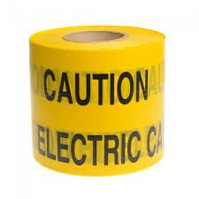 Electric Marker Tape - 150mm x 365mtr