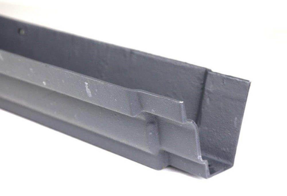 Cast Iron Moulded Ogee Gutter - 100mm x 1829mm Primed