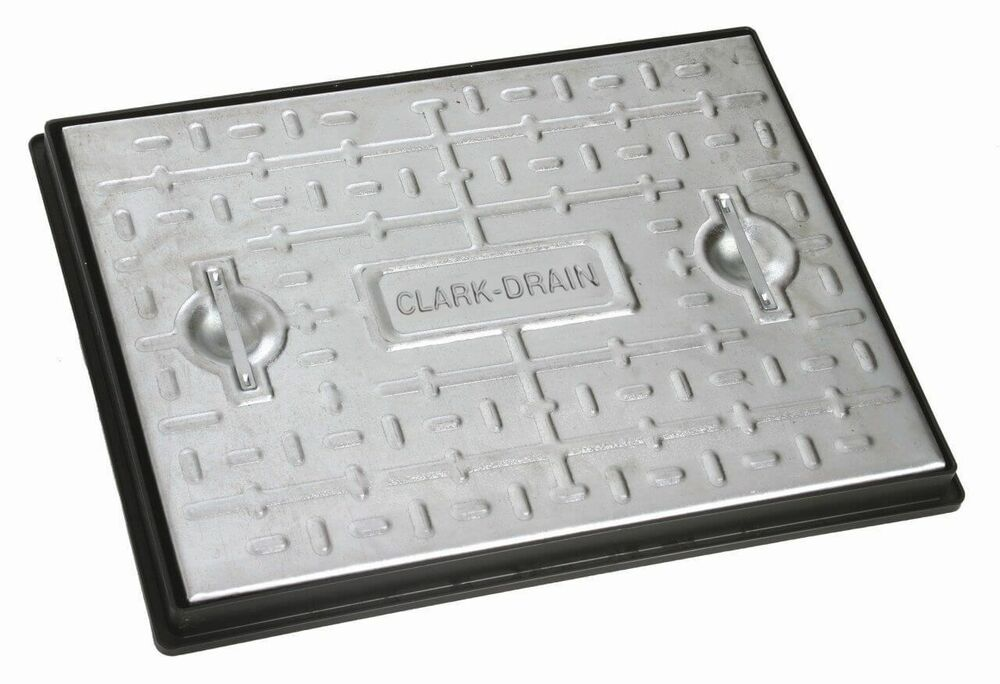 Steel Manhole Cover - 10 Tonne x 600mm x 450mm