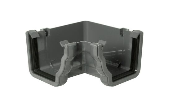 Ogee Gutter Internal Angle - 90 Degree x 80mm Anthracite Grey