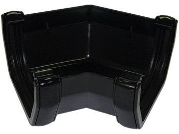 Square Gutter Angle - 135 Degree Black - OUT OF STOCK