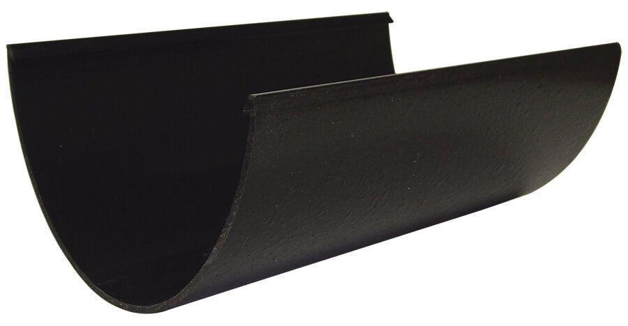 Deepflow/ Hi-Cap Gutter - 115mm x 75mm x 4mtr Cast Iron Effect