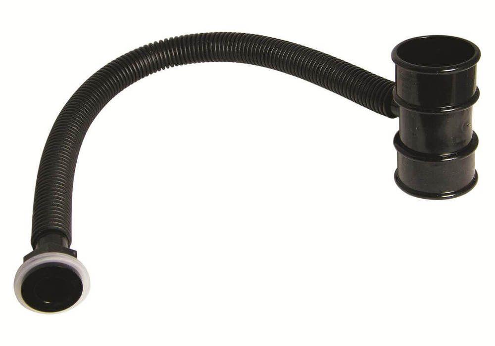 Mini Gutter Rain Diverter - 50mm Black