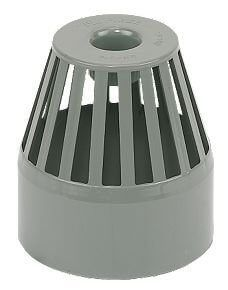 Ring Seal Soil Vent Terminal - 110mm Grey