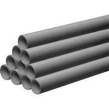 Push Fit Waste Pipe - 40mm x 3mtr Grey - Pack of 20