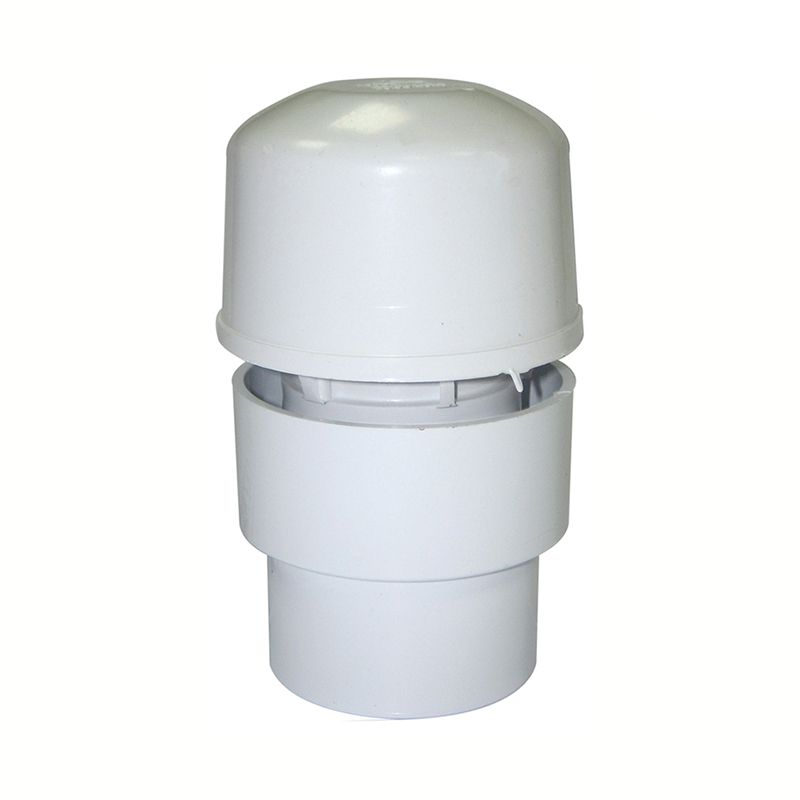 Air Admittance Valve For Universal Waste Pipe - 32mm - 50mm White