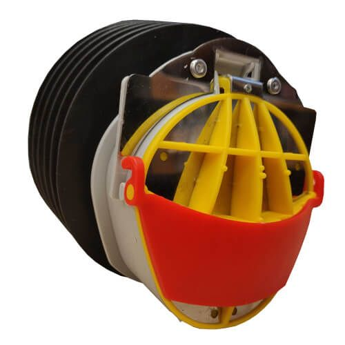 Buffalo 110mm Drainage Non Return Valve With Rodent Guard