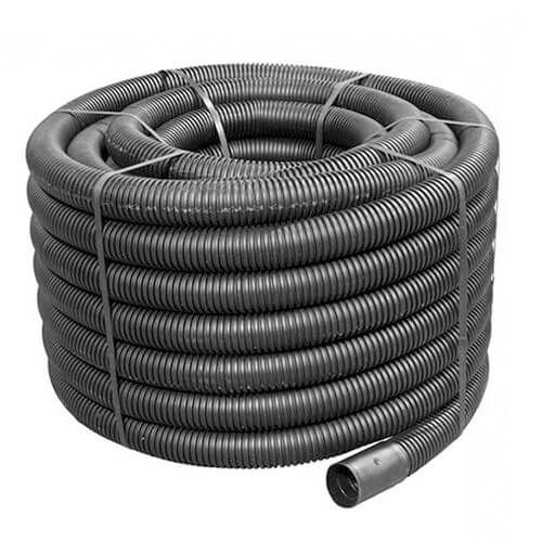 Flexi Duct - 50mm (O.D.) x 50mtr Black Coil