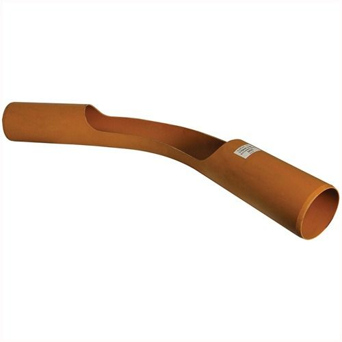 Drainage Long Radius Channel Bend Plain Ended - 45 Degree x 110mm