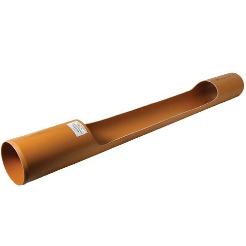 Drainage Channel Access Pipe Plain Ended - 1.5mtr x 110mm