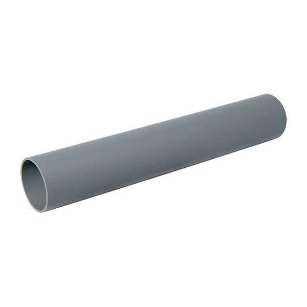 Push Fit Waste Pipe - 32mm x 3mtr Grey
