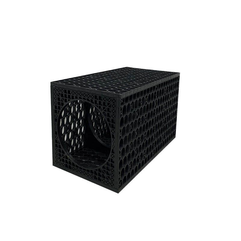 Rainsmart Ellipse Inspection Channel Crate Flat-Packed - Shallow