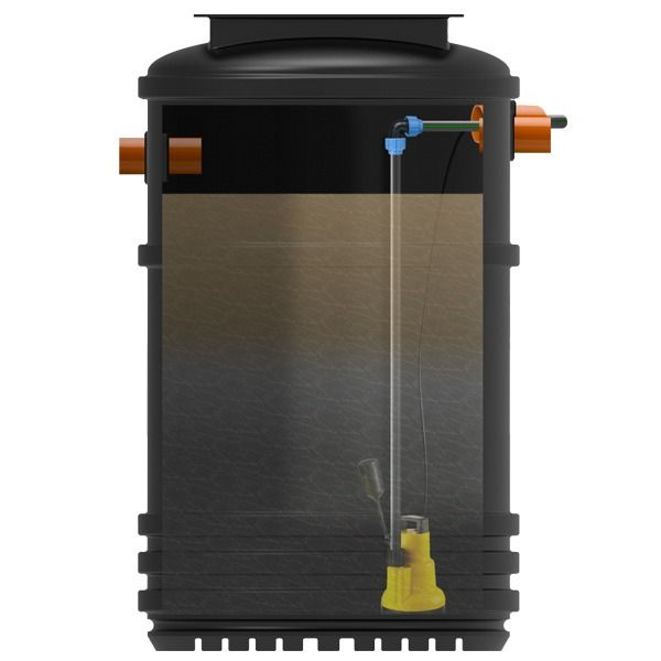 Rainwater Harvesting System - Rainstore Garden Irrigation 1000L