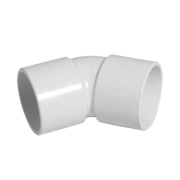 Solvent Weld Waste Bend - 135 Degree x 32mm White