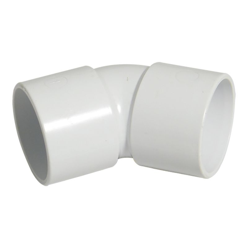 Solvent Weld Waste Bend - 135 Degree x 50mm White