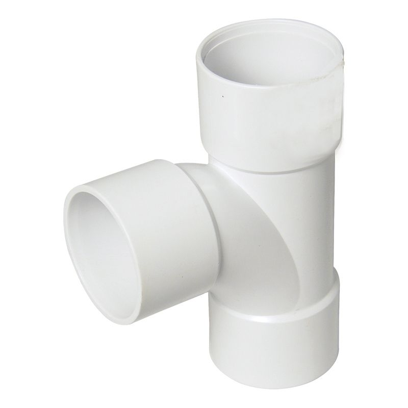 Solvent Weld Waste Tee - 50mm White
