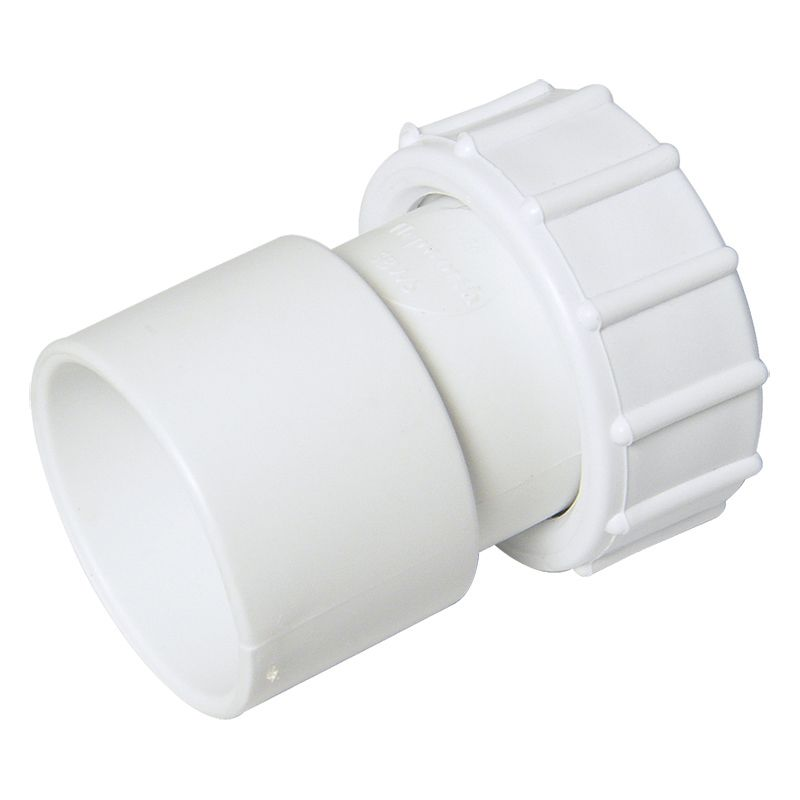 Solvent Weld Waste Cap & Lining - 40mm White
