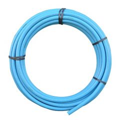 MDPE Pipe - 25mm x 25mtr Blue