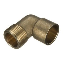 Solder Ring Male Iron Adaptor Bent - 15mm x 1/2""