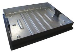 Manhole Cover Recessed - 10 Tonne x 600mm x 450mm x 80mm