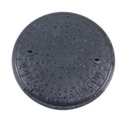 Ductile Iron Manhole Cover Round - 12.5 Tonne x 450mm Diameter