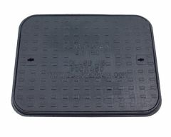 Cast Iron Manhole Cover - 1.5 Tonne x 600mm x 450mm