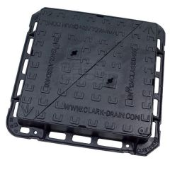 Ductile Iron Manhole Cover - 40 Tonne x 600mm x 600mm
